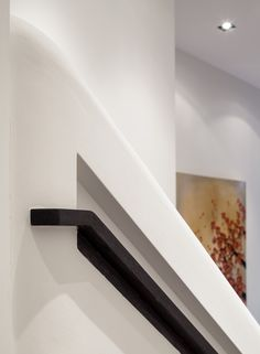 Peek Architecture + Design: Smith Terrace, Chelsea Townhouse: Recessed handrail detail