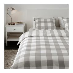 EMMIE RUTA Duvet cover and pillowcase(s) - Full/Queen $29.99 (Double/Queen) - IKEA - For the guest room!