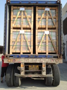Mosaic Tile---Loading Container