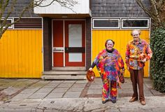 View top-quality stock photos of Elderly Couple In Eccentric Outfits. Find premium, high-resolution stock photography at Getty Images. Elderly Couples, Gender Issues, Martin Parr, Eccentric, Kimono Top, Stock Photos, How To Wear, Photography, Outfits