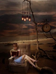 reading a good book is like being transported into another world.