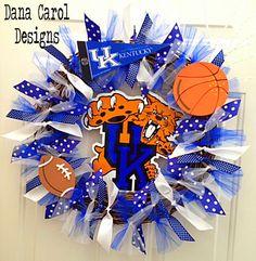 Basket Ball Decorations For Girls Kentucky Wildcats 37 Ideas Kentucky Sports, Kentucky Basketball, Wildcats Basketball, Football, University Of Kentucky, Kentucky Wildcats, Ball Birthday Parties, Go Big Blue, Ball Decorations