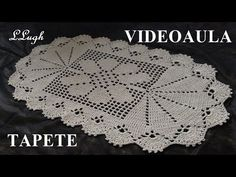 Tapete de barbante nº 30 #LuizadeLugh - YouTube