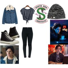 Fashmates Outfit Inspiration: I took a quiz on which Riverdale character I am and. Nerd Fashion, Teen Fashion Outfits, Outfits For Teens, Punk Fashion, Lolita Fashion, Fashion Boots, Fashion Dresses, Riverdale Merch, Riverdale Quiz