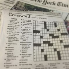"Anyone catch 45-Across in today's @nytimes #crossword? ""Smarter Planet co."" ✏️"