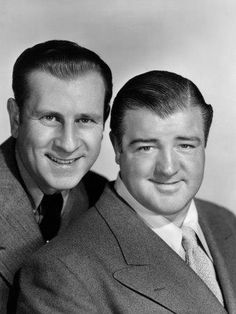 Abbott & Costello... You are SO missing out if you haven't watched any of their acts. Just go to youtube now an  search Abbott and Costello's Who came in first.