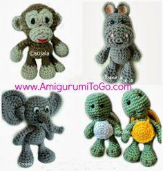 Amigurumi To Go: Little Bigfoot