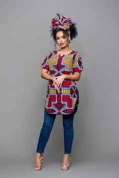 African Print Nesse Top We are want to say thanks if you like to share this post to anothe... - African Fashion Dresses