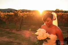 Stunning vineyard portrait outside of Casa Real (www.casarealevents.com) by Apollo Fotografie.