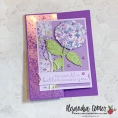 Learn how to make three easy cards using the Hydrangea Hill Suite from Stampin' Up! Easy Cards, Hydrangea, Stampin Up, Card Ideas, Third, Finding Yourself, Invitations, Create, Paper
