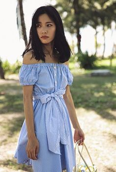 SINCE THEN Blue Plaid Beach Dress #bohoclothing #bohemianclothing #bohochic #bohostyle #bohemian #boho #hippiestyle #hippie #bohodress #bohemiandress