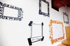 Office decor. Frames and whiteboard ewalls-s.com