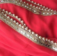 Indian Bridal Fashion, Indian Wedding Outfits, Indian Outfits, Indian Dresses, Indian Attire, Indian Wear, Lehenga Skirt, Anarkali, Mirror Work Saree