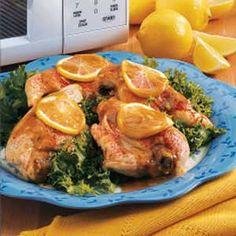 Mustard Chicken Breasts