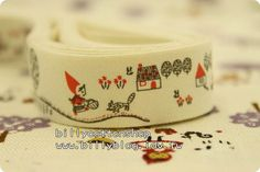 V122 - cotton tape/ sewing tape/ Ribbon - cotton - red ridding hood  *** [FREE SHIPPING NOW!!!]   https://www.etsy.com/listing/84535404/v122-cotton-tape-sewing-tape-ribbon?ref=shop_home_active
