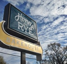 Honey and Rye Bakehouse in St.Louis Park, MN--walking distance from condo. Yum!!