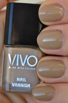 Vivo Cosmetics nail polish in shade Hero.