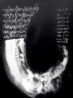 Anneke Baeten, abstract and asemic writing