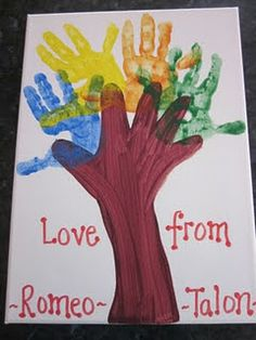 grown with love. mother's day, father's day or grandparents day craft
