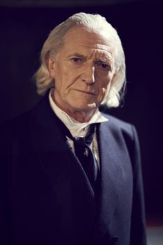 "David Bradley as William Hartnell, the First Doctor, in ""An Adventure in Space and Time."""