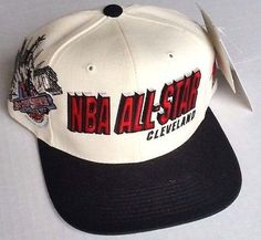 Cleveland NBA All Star 1997 Hat Sport Specialties Snapback Vintage NWT  Deadstock 90s Hats 40168a6781c0