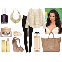 """nude"" by maisierh on Polyvore"