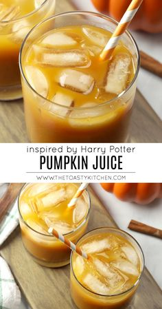 Pumpkin Juice by The Toasty Kitchen #pumpkin #juice #applecider #fall #drink #beverage #autumn #halloween #partydrink #harrypotter #harrypotterparty #hogwarts #nonalcoholic #kidfriendly Recipe Using Pumpkin, Pumpkin Recipes, Thanksgiving Recipes, Fall Recipes, Drink Recipes, Canned Pumpkin, Pumpkin Pie Spice, Harry Potter Pumpkin Juice, Recipe Maker