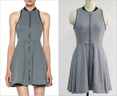 Grey Dress High Quality.MOQ=100pcs.Welcome to ask price via email:bomiclothing@gmail.com.What's app:+8613560367207