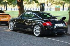 Audi tt 225 mk1 with rear spoiler