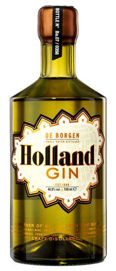 De Borgen Holland Gin ginfusion