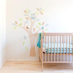 41 orchad, naturaleza y letras para la pared infantil