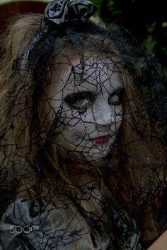 Haloween Bride - My daughter in her costume