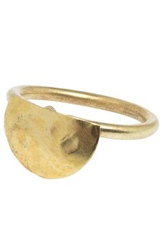 This semi circle brass ring is made by hand from our producers in Kenya. Available in 2 sizes Fair Trade Fashion, Beautiful Hands, Cuff Bracelets, Gold Rings, Women Wear, Wedding Rings, Rose Gold, Brass, Gifts