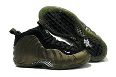 6bf22d2a545 nike air foamposite one penny hardaway 314996 071 pine black Cheap Jordan  Shoes