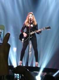 Madonna at the HP Pavilion in San Jose, California, on Sunday, October 7, 2012