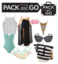 Hawaii by erama on Polyvore featuring Topshop, Prism, Eos and Sun Bum