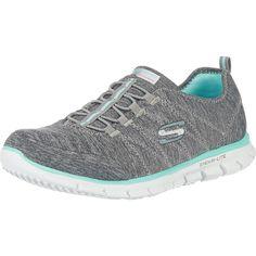 Die SKECHERS Electricity Sneakers präsentieren sich praktisch und sportiv. Die elastische Schnürung eignet sich ideal zum schnellen Hineinschlüpfen und sorgt für beste Anpassung an den Fuß.  - praktische Zuglasche hilft beim Hineinschlüpfen - anpassungsfähige und großzügig gepolsterte Memory Foam Einlegesohle - leichte Profilsohle mit Flexkerben  Obermaterial: Textil  Futter: Textil  Decksohle:...