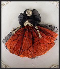 Beautiful Skeleton Halloween Decoration for Halloween by JeanKnee