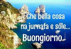 Italian Greetings, Start The Day, Day For Night, Morning Images, Good Mood, Cute Quotes, Good Morning, Humor, Estate