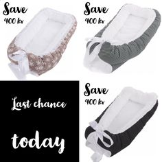🌸 BABYNEST.NO 🌸 SAVE KR 400 🌸 LAST CHANCE TODAY — SUPERSALE  on babynest from last collection ✨  Shipping worldwide the next day!  Soft, steady and safe babynest as seen in Harper's Bazaar UK and the Norwegian Foreldre og Barn.  (Fast frakt i Norge kr 99,-)  We are ready to ship you a beautiful babynest for your baby's first year 💝