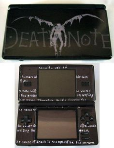 A Death Note nintendo DS! D: I WHANT THAT IMMEDIATELY!!! *-*