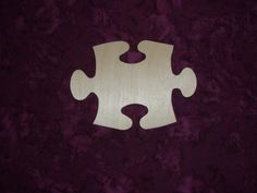 Puzzle Piece Shape Unfinished Wood Cut Out Paintable Wooden Crafts Baltic Birch on Etsy, $1.10