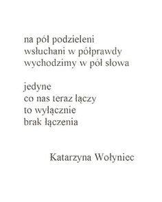 Jak łatwo przyzwyczaić się do tego, że nic nas nie łączy.  #cynicznyromantyzm #cynical #books #poet #poetry #togheter #connect #words