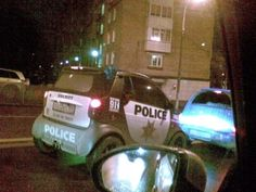 Another Police smart car