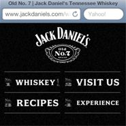 Jack Daniel's redesigns mobile site to better accommodate tech-savvy consumers