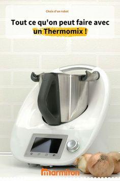 Que faire avec un robot Thermomix ? Rejoignez la discussion sur le forum de Marmiton #thermomix #robot #forum #marmiton
