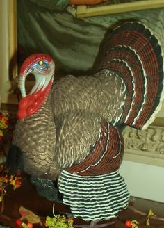 Vintage German Turkey Candy Container
