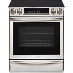 Samsung Slide-in Electric Range with FlexDuo Oven Ranger, Appliance Reviews, Slide In Range, Large Oven, 5 Elements, Electric Cooktop, Stainless Steel Oven, Cooking Stove, Samsung