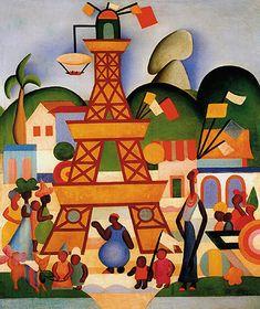 Obras de Tarsila do Amaral | Enciclopédia Itaú Cultural Classic Paintings, Old Paintings, Carnaval Em Madureira, Decoration, Art Decor, Brazil Culture, Women Artist, Creative Wall Painting, Brazil Art
