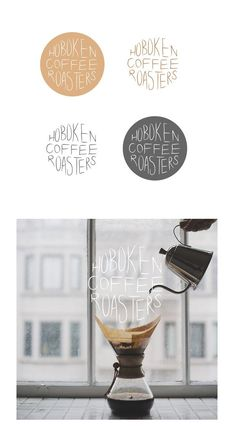 Hoboken Coffee Roasters logo design